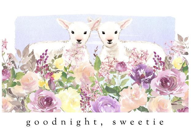 goodnight, sweetie